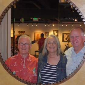 Kristi with friends and Project Redwood Partners Ed Kaufman and Dave Fletcher.