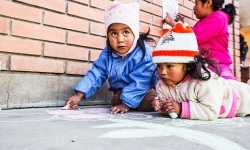 Working from the ground up with HOPE worldwide in La Paz.