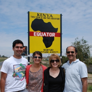 The Virani Family in Kenya