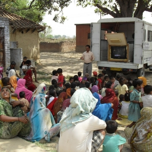 International Village Clinic takes healthcare education to rural villages in the Uttar Pradesh of India.