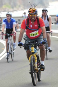 Gerald Thomas in the Gong Ride cropped